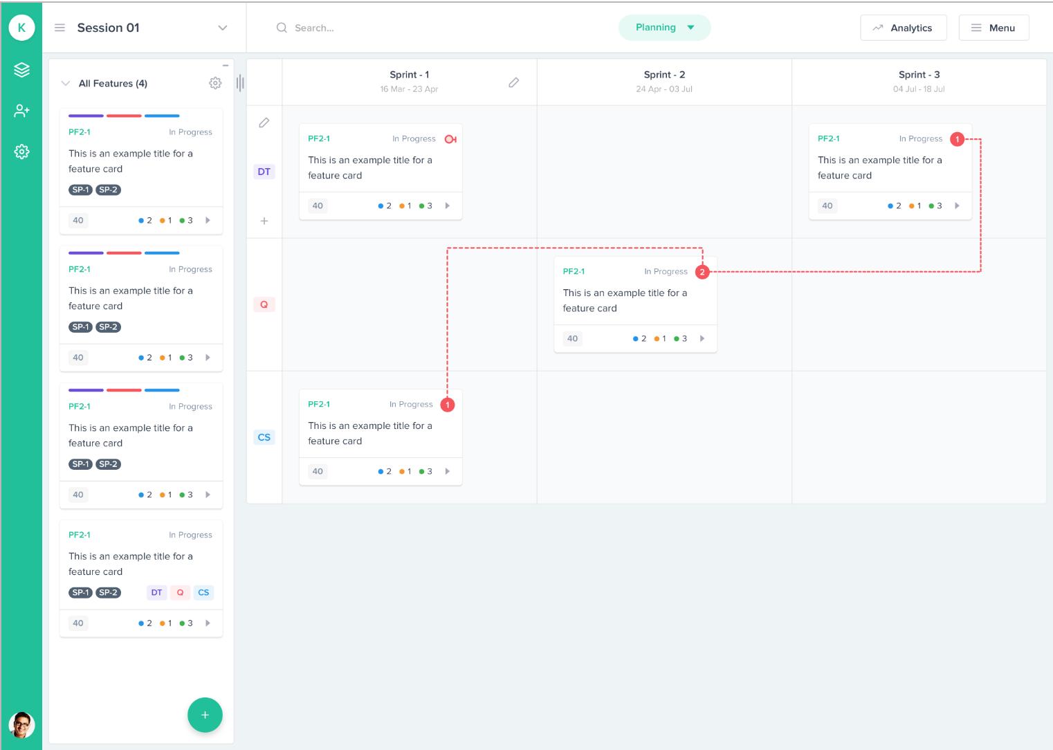 Planning-Kendis-scaled-agile-framwork